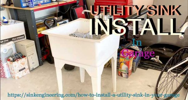 How-to-install-a-utility-sink-in-garage