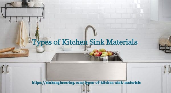 Best Types of Kitchen Sink Materials