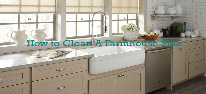 How-to-clean-a-farmhouse-sink