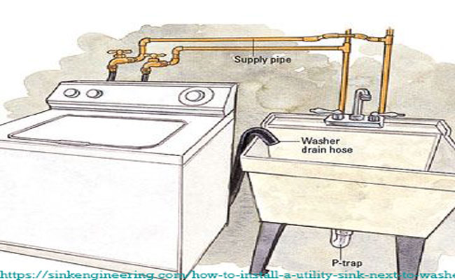 Installation-guide-to-install-a-utility-sink-next-to-washer