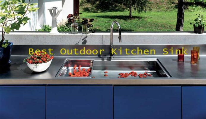 Best-outdoor-kitchen-sink