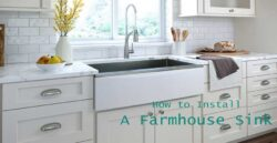 How-to-install-a-farmhouse-sink