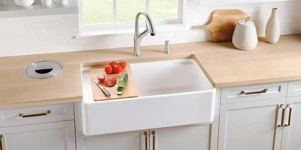 Fireclay-sink