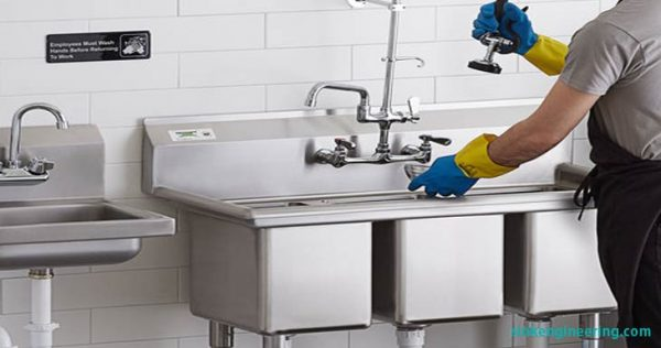 How to Clean and Sanitize in a Three Compartment Sink