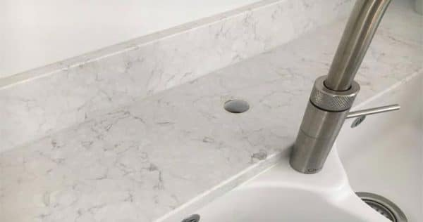 How to Enlarge Hole in Quartz Countertop
