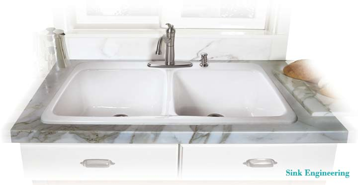 How to Install a Drop-in Cast Iron Kitchen Sink