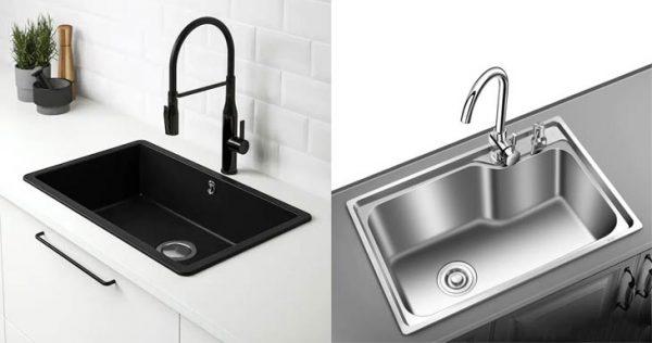 Quartz Sink vs Stainless Steel Sink